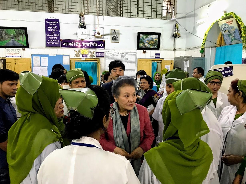 南学長がバングラデシュを訪問しました