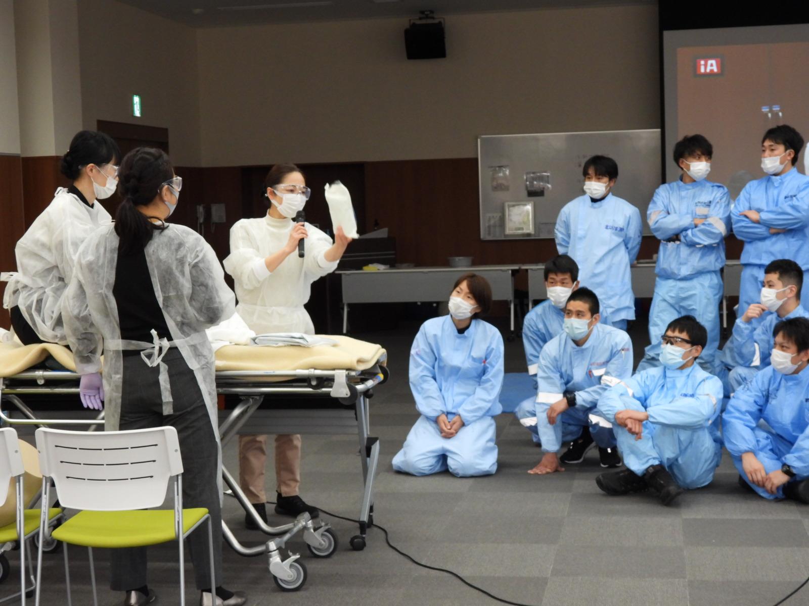 救急救命士への講義に行ってきました!(兵庫県消防学校)
